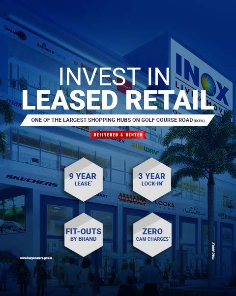 M3M Pre-Leased Retail Property